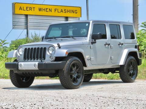2014 Jeep Wrangler Unlimited for sale at Tonys Pre Owned Auto Sales in Kokomo IN