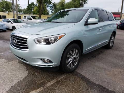 2014 Infiniti QX60 for sale at Nonstop Motors in Indianapolis IN
