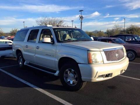 2004 Cadillac Escalade ESV for sale at Frank Corrente Cadillac Corner in Hollywood CA
