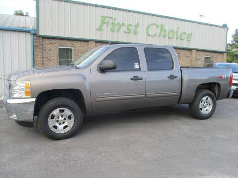 2012 Chevrolet Silverado 1500 for sale at First Choice Auto in Greenville SC