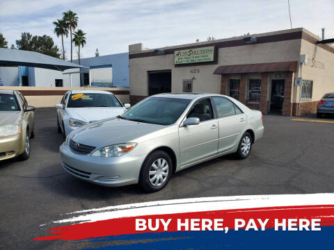 2003 Toyota Camry for sale at Auto Solutions in Mesa AZ