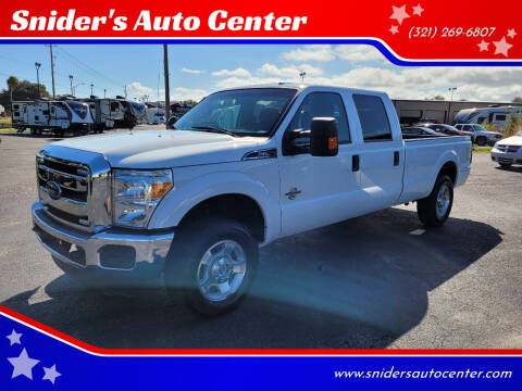 2016 Ford F-250 Super Duty for sale at Snider's Auto Center in Titusville FL