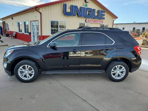 "2017 Chevrolet Equinox for sale at UNIQUE AUTOMOTIVE ""BE UNIQUE"" in Garden City KS"