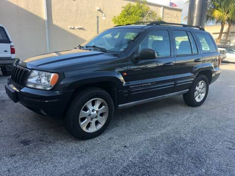1999 Jeep Grand Cherokee for sale at Florida Cool Cars in Fort Lauderdale FL