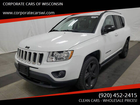 2011 Jeep Compass for sale at CORPORATE CARS OF WISCONSIN in Sheboygan WI