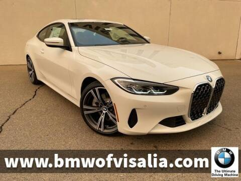 2022 BMW 4 Series for sale at BMW OF VISALIA in Visalia CA