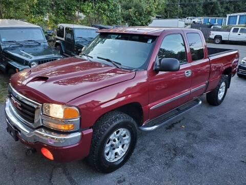 2005 GMC Sierra 1500 for sale at MX Motors LLC in Ashland MA