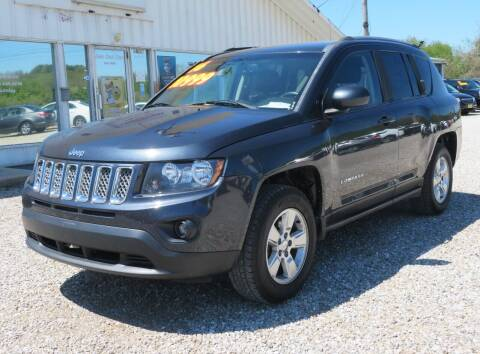 2016 Jeep Compass for sale at Low Cost Cars in Circleville OH