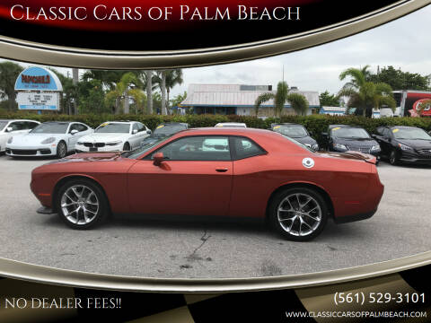 2021 Dodge Challenger for sale at Classic Cars of Palm Beach in Jupiter FL