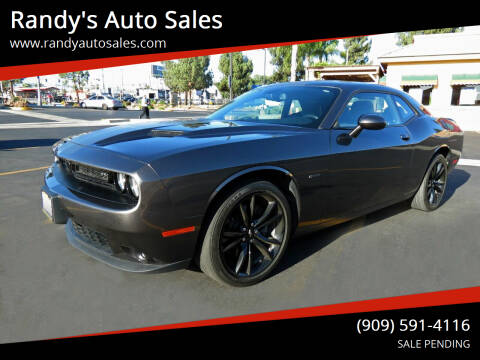 2017 Dodge Challenger for sale at Randy's Auto Sales in Ontario CA