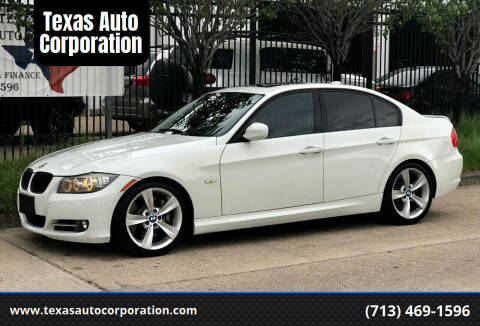 2011 BMW 3 Series for sale at Texas Auto Corporation in Houston TX