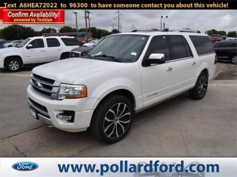 2017 Ford Expedition EL for sale at South Plains Autoplex by RANDY BUCHANAN in Lubbock TX