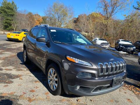 2015 Jeep Cherokee for sale at Royal Crest Motors in Haverhill MA