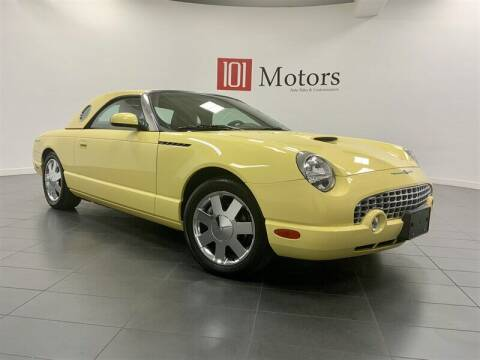 2002 Ford Thunderbird for sale at 101 MOTORS in Tempe AZ