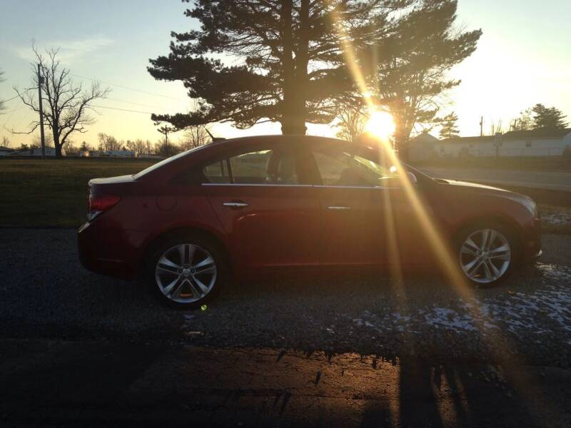 2011 Chevrolet Cruze for sale at EAGLE ONE AUTO SALES in Leesburg OH