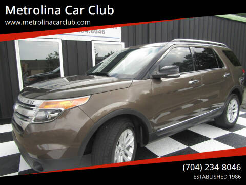 2015 Ford Explorer for sale at Metrolina Car Club in Matthews NC