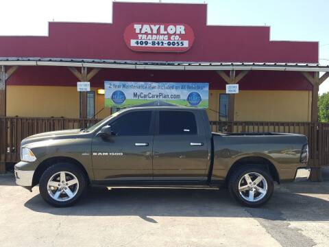 2012 RAM Ram Pickup 1500 for sale at Taylor Trading Co in Beaumont TX