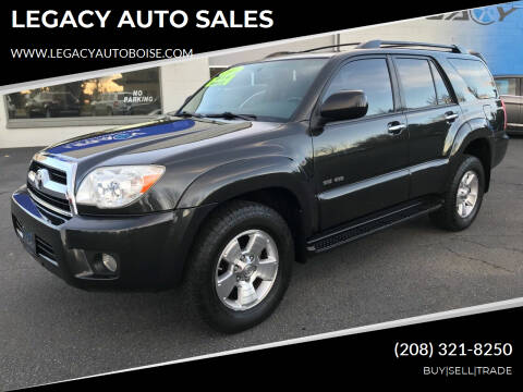 2009 Toyota 4Runner for sale at LEGACY AUTO SALES in Boise ID