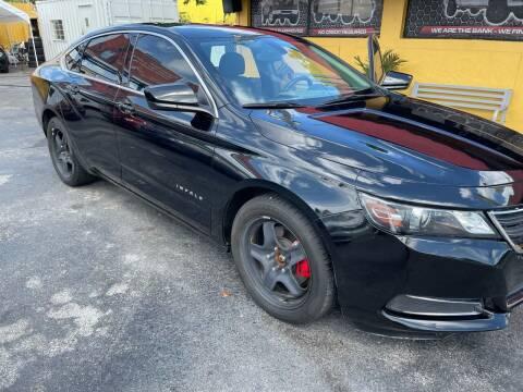 2019 Chevrolet Impala for sale at AUTO ALLIANCE LLC in Miami FL