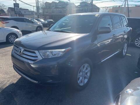 2012 Toyota Highlander for sale at Park Avenue Auto Lot Inc in Linden NJ