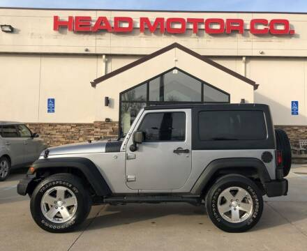 2014 Jeep Wrangler for sale at Head Motor Company - Head Indian Motorcycle in Columbia MO