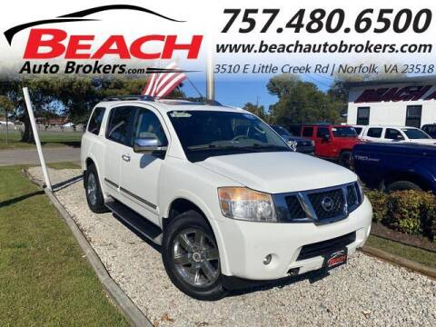 2011 Nissan Armada for sale at Beach Auto Brokers in Norfolk VA