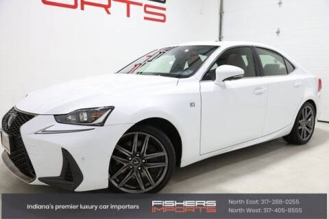 2018 Lexus IS 350 for sale at Fishers Imports in Fishers IN