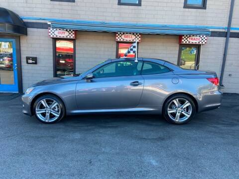 2012 Lexus IS 250C for sale at Sisson Pre-Owned in Uniontown PA