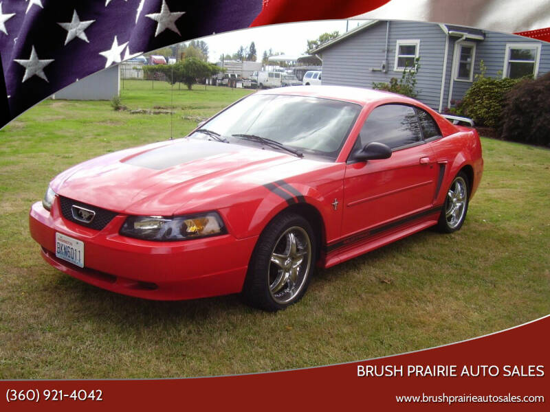 2003 Ford Mustang for sale at Brush Prairie Auto Sales in Battle Ground WA