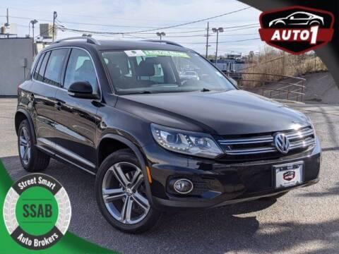 2017 Volkswagen Tiguan for sale at Street Smart Auto Brokers in Colorado Springs CO