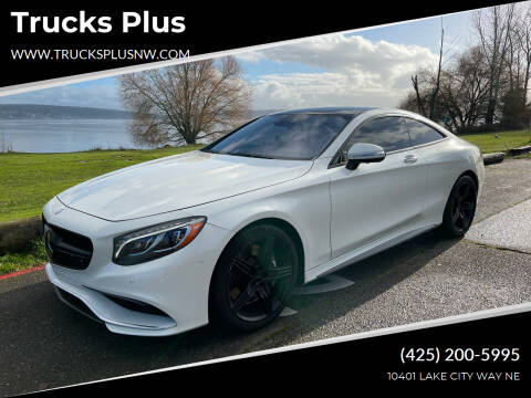 2015 Mercedes-Benz S-Class for sale at Trucks Plus in Seattle WA