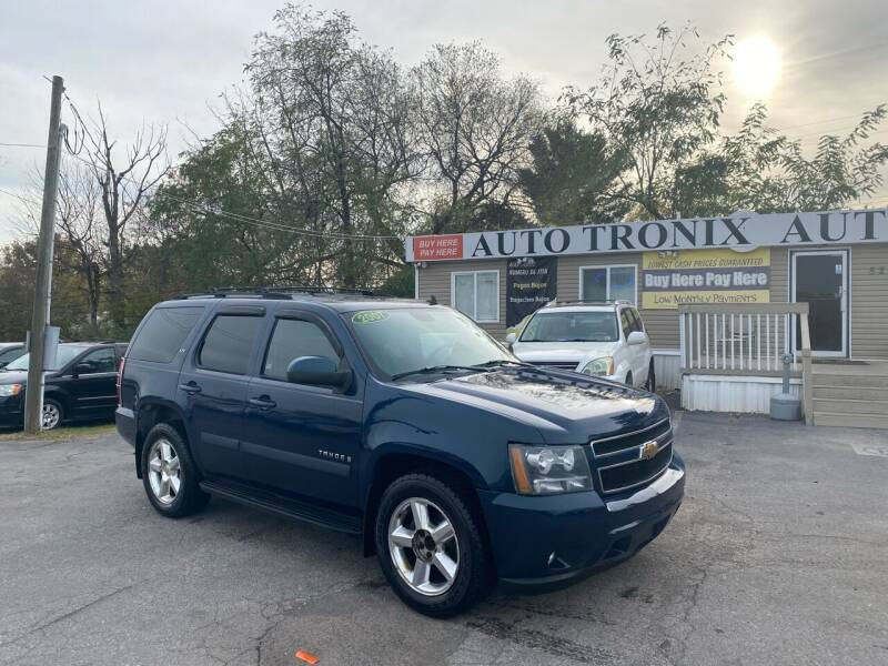 2007 Chevrolet Tahoe for sale at Auto Tronix in Lexington KY