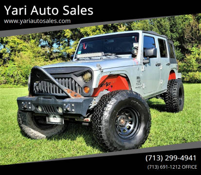 2010 Jeep Wrangler Unlimited for sale at Yari Auto Sales in Houston TX