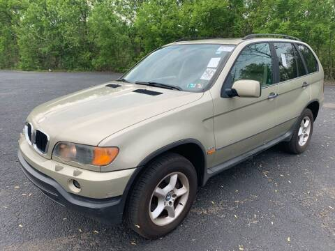 2001 BMW X5 for sale at Trocci's Auto Sales in West Pittsburg PA