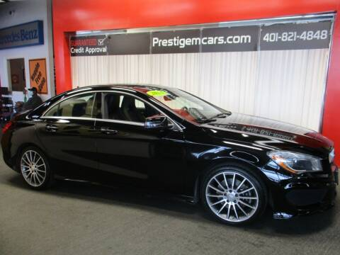 2016 Mercedes-Benz CLA for sale at Prestige Motorcars in Warwick RI