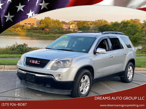 2009 GMC Acadia for sale at Dreams Auto Group LLC in Sterling VA
