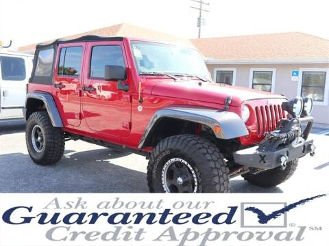 2013 Jeep Wrangler Unlimited for sale at Universal Auto Sales in Plant City FL