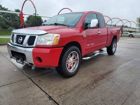 2005 Nissan Titan for sale at QUAD CITIES AUTO SALES in Milan IL