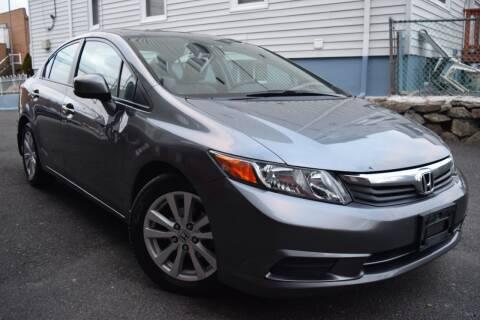 2012 Honda Civic for sale at VNC Inc in Paterson NJ