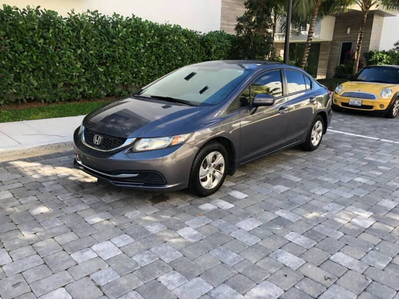 2014 Honda Civic for sale at CARSTRADA in Hollywood FL