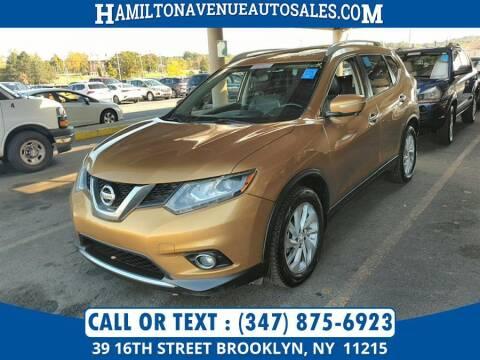2014 Nissan Rogue for sale at Hamilton Avenue Auto Sales in Brooklyn NY