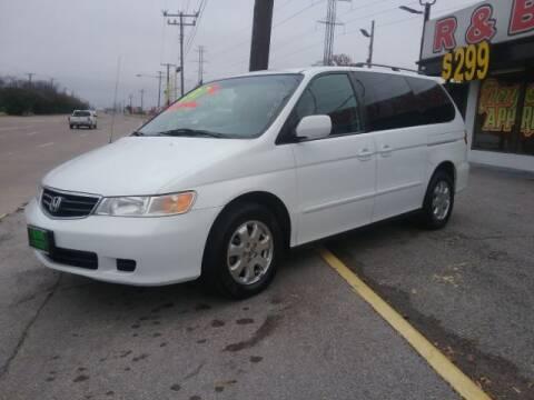 2003 Honda Odyssey for sale at www.rnbfinance.com in Dallas TX