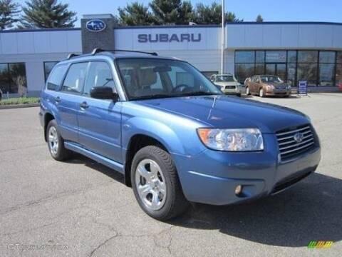 2007 Subaru Forester for sale at USA Auto Inc in Mesa AZ