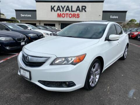 2013 Acura ILX for sale at KAYALAR MOTORS in Houston TX
