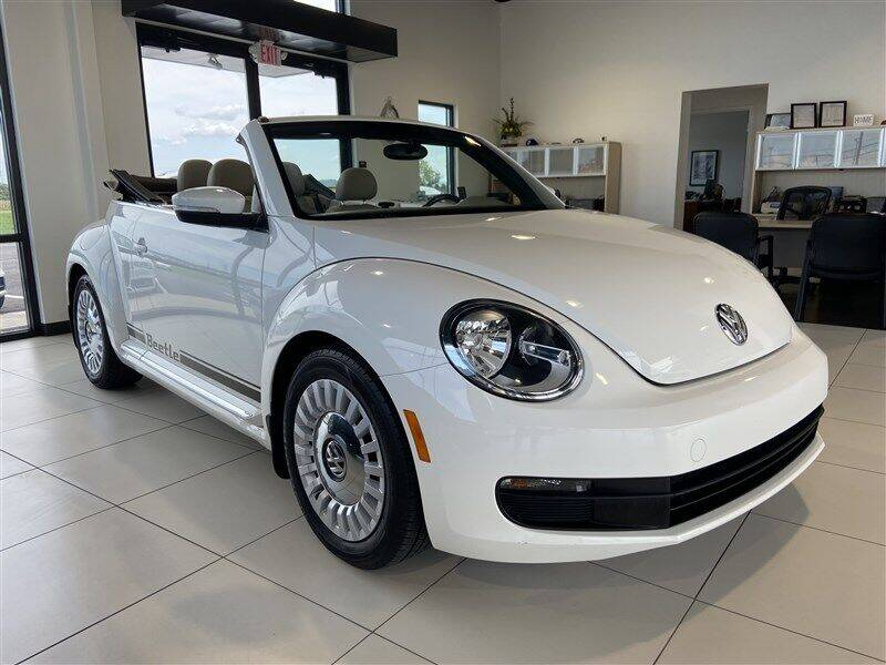 2013 Volkswagen Beetle Convertible for sale at Sterling Motorcar in Ephrata PA