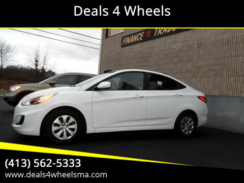 2016 Hyundai Accent for sale at Deals 4 Wheels in Westfield MA