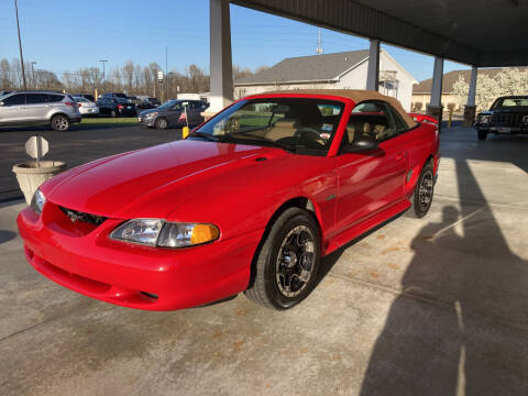 1998 Ford Mustang for sale at McCully's Automotive - Under $10,000 in Benton KY