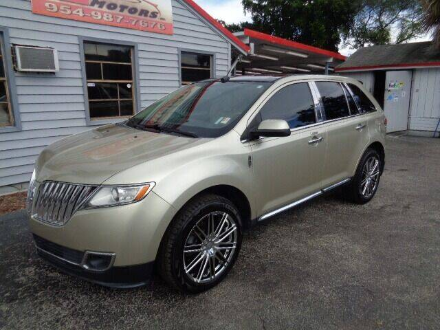 2011 Lincoln MKX for sale in North Lauderdale, FL
