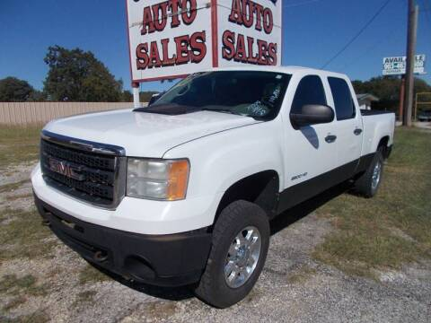 2011 GMC Sierra 2500HD for sale at OTTO'S AUTO SALES in Gainesville TX