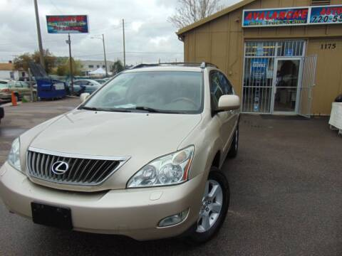 2008 Lexus RX 350 for sale at Avalanche Auto Sales in Denver CO